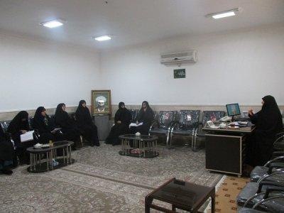 گزارش عملکرد مسئولان حوزه بافق در نیمسال اول96-95