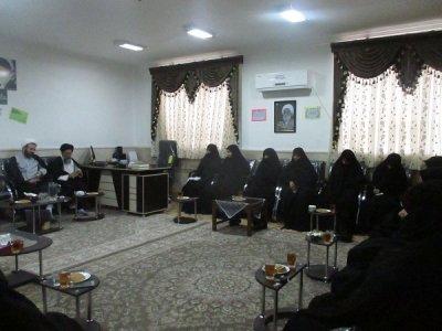 بازید سفیران رهبری از حوزه علمیه خواهران شهرستان بافق